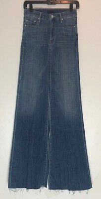 Mother Denim The Roller High Waisted Wide Leg Jeans 25 26 27 28 Derby Dreams