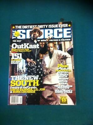 The Source Magazine with Outkast on the cover September 2003