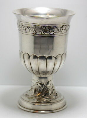 Antique Silver Goblet Possible Russian Origin