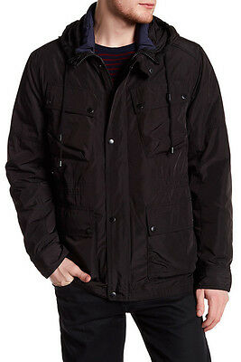 $400! NWT Cole Haan Men's Signature Oxford 3 in 1 Hooded Parka Jacket Coat XL