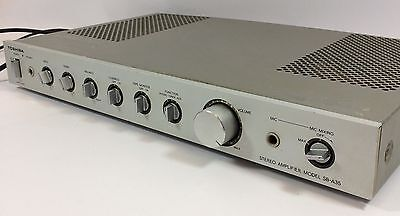 Toshiba SB-A35 Stereo Integrated Amplifier Hi-Fi Separate Phono Amp JAPAN MADE