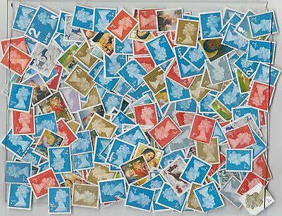 500 G/B Reject Stamps on/off paper
