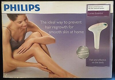 Philips Lumea Essential SC1991/00 IPL Hair Removal System New