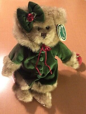 Bearington Collection Bear Decorating The Tree with Stand (See Description)