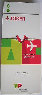 Original Spielkarten Pokerkarten TAP Portugal Airline