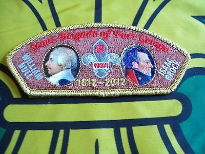 Canadian Scout badge/patch  Scout Brigade Of Fort George