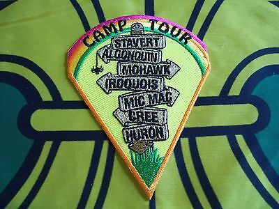 Canadian Scout badge/patch  Camp Tour