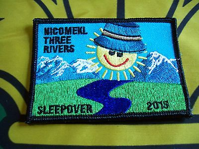 Canadian Scout badge/patch  Sleepover