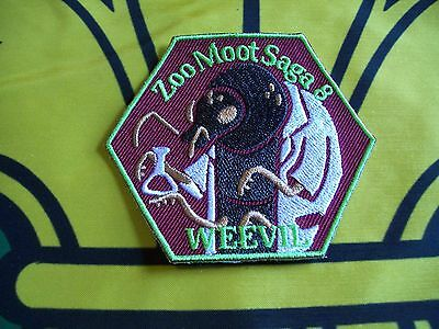 Canadian Scout badge/patch  Zoo Moot Saga 8 WEEVIL