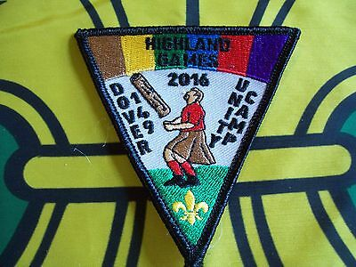Canadian Scout badge/patch  Highland Games