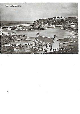 PORTPATRICK Harbour Wigtownshire Early Postcard 1916 Postmark