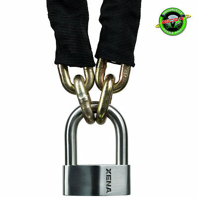 Xena XSU69 Padlock and 2M Chain - Sold Secure