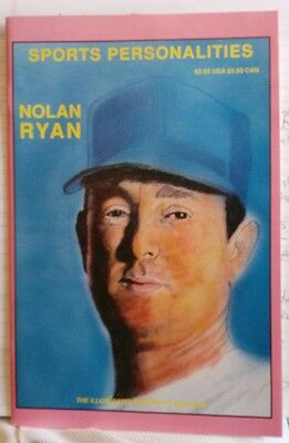 August 1991 Sports Personalities #2, The Illustrated Biography Mag.,-Nolan Ryan