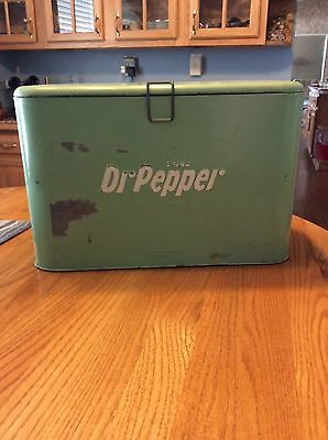 Vintage 1940's  Dr Pepper A4 Cooler!! Coca Cola 7Up Rare!! Amazing Condition
