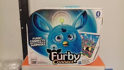 Furby Connect Interactive soft Toy talking Bluetooth kids gift smart phone BLUE