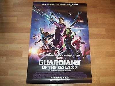 Guardians of the Galaxy movie poster original d/s one 1 sheet