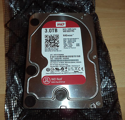 "Western Digital WD Red (WD30EFRX) 3TB,5400 RPM,3.5"" SATA"