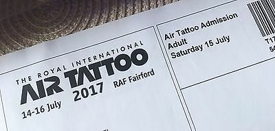 RIAT 2017 SATURDAY ADULT Ticket,  AIRSHOW Ticket for Saturday already sold out