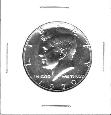 1970-S 40% Silver Proof Kennedy Half Dollar