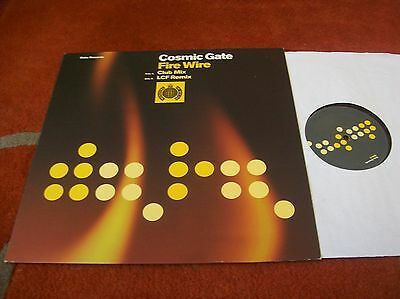 "COSMIC GATE - fire wire 12"" single 2001... ministry of sound EX"