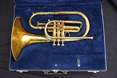 Conn F Marching French Horn/ Mellophone