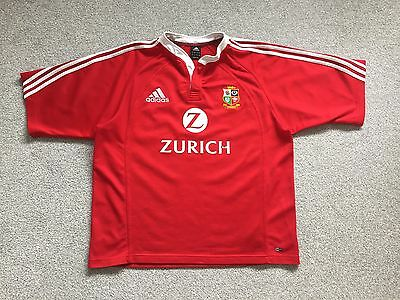 British Lions Adidas New Zealand 2005 Rugby Union Shirt - Size XL