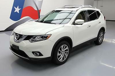 2014 Nissan Rogue  2014 NISSAN ROGUE SL HTD LEATHER PANO ROOF NAV 42K MI #831683 Texas Direct Auto