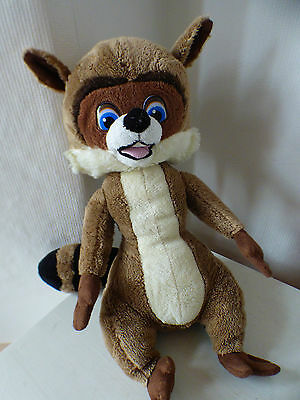 "RJ from ""Over the Hedge"" movie, 35cm high soft toy, Dreamworks, VGC!"