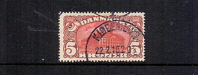DENMARK 1915 5k G.P.O. USED CAT £180