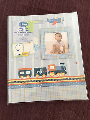 Disney Baby Keepsake Memory Book, NEW, boy theme