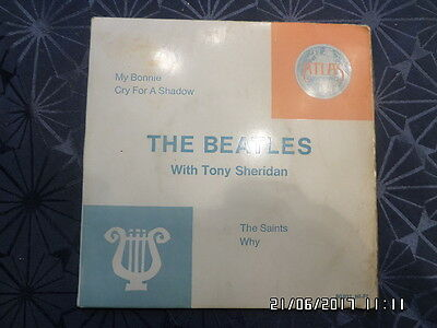 7-Single-Ep-The Beatles With Tony Sheridan-My Bonnie/cry For A Shadow/the Saints