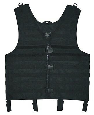 Tactical Molle Vest Black medium to XL Hunting Security Tactical Security