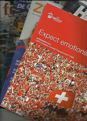 EURO 2008 bundle of brochures linked to tournament