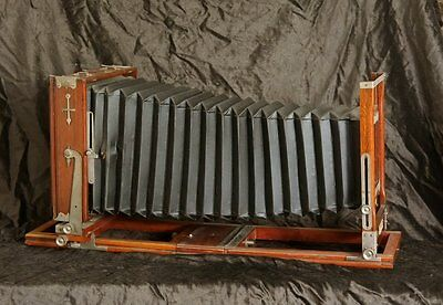 beautifull!! Improved Seneca View fullplate Camera 5x7 Holzkamera wet plate