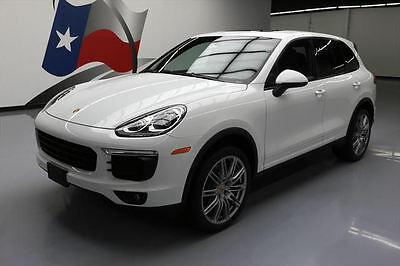 2016 Porsche Cayenne Base Sport Utility 4-Door 2016 PORSCHE CAYENNE AWD SUNROOF NAV REAR CAM 21'S 6K #A15196 Texas Direct Auto