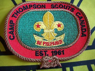 Canadian Scout badge/patch Camp Thompson