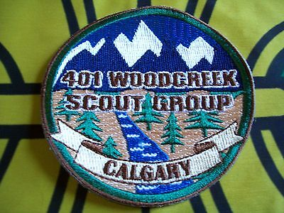 Canadian Scout badge/patch 401 Woodcreek Scout Group