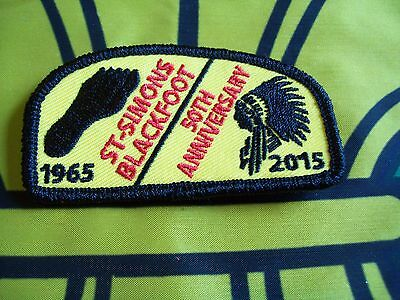 Canadian Scout badge/patch St Simons Blackfoot 50th anniversary