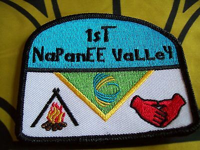 Canadian Scout badge/patch 1st NaPanEE VaLLey