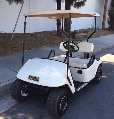 EZ-Go Electric Golf Cart 36V 2 Passenger with Charger NO RESERVE!!