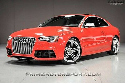 2014 Audi RS5 Base Coupe 2-Door 2014 AUDI RS5 COUPE NAVIGATION SPORT EXHAUST ALCANTARA SEATS 20S