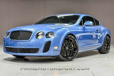 2010 Bentley Continental GT Supersports Coupe 2-Door 2010 BENTLEY CONTINENTAL GT SUPERSPORTS RARE COLOR ONLY 17K MILES