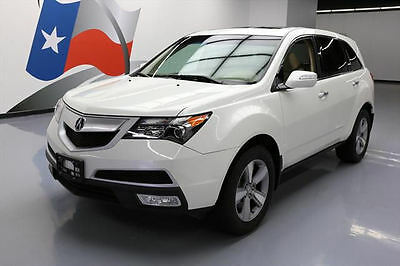 2012 Acura MDX  2012 ACURA MDX SH-AWD 7-PASS SUNROOF REAR CAM 53K MILES #530391 Texas Direct
