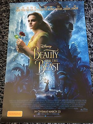 BEAUTY AND THE BEAST One Sheet Movie Poster Emma Watson