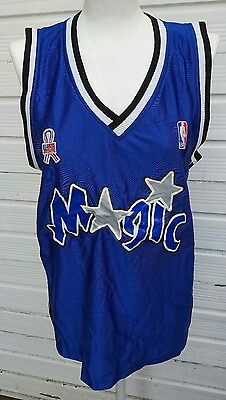 Orlando Magic NBA Basketball shirt jersey summer vest. Size XL Shaquille O'Neal