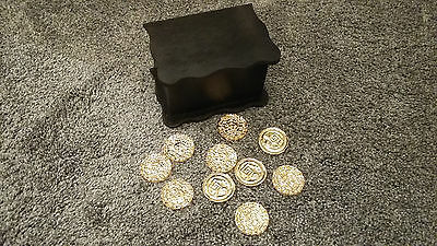 Pirates Of The Caribbean Aztec Gold Cursed Coins Replica Props