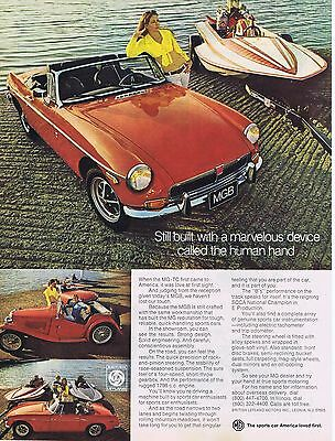 1973 Advertisement - MGB - SCCA NATIONAL CHAMPION in E PRODUCTION