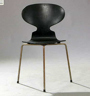 "Rare Arne Jacobsen ""ant Chair"". 3 Legged For Fritz Hansen Mid Century Modernist"