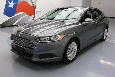 2013 Ford Fusion SE Hybrid Sedan 4-Door 2013 FORD FUSION SE HYBRID PARK ASSIST ALLOY WHEELS 58K #350164 Texas Direct