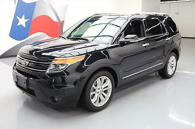 2014 Ford Explorer  2014 FORD EXPLORER LIMITED 6PASS VENT LEATHER NAV 20'S  #A88770 Texas Direct